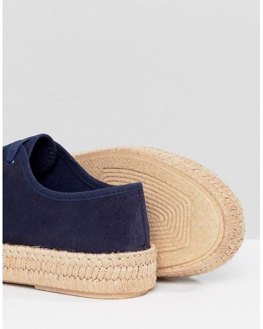 DESIGN Jan Suede Lace Up Espadrilles outlet perfect get authentic cheap price buy cheap websites wcmgR