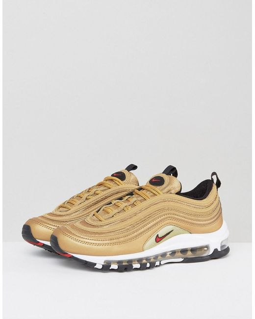 separation shoes 87216 ec806 Metallic Womens Air Max 97 Og Qs - Size 9.5w