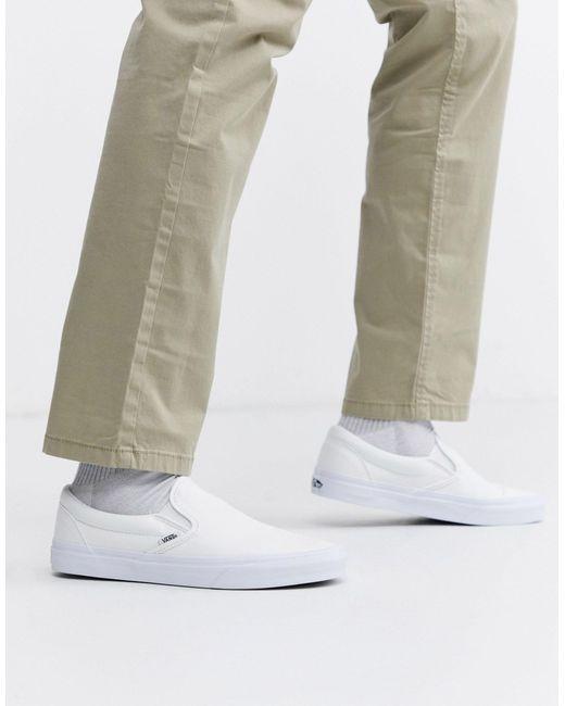 Chaussures Comfycush Slip-on Toile Vans pour homme en coloris ...