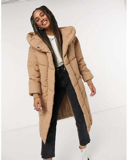 Дутая Куртка Песочного Цвета -коричневый Noisy May, цвет: Brown