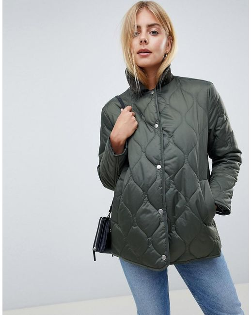 ASOS Multicolor Quilted Jacket