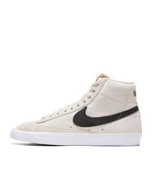 Светло-коричневые Кроссовки Из Замши Blazer Mid '77-коричневый Цвет Nike для него, цвет: Multicolor