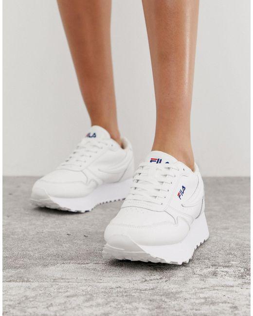 Orbit Zeppa L - Baskets - Blanc Fila en coloris White