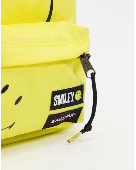 Желтый Рюкзак X Smiley Eastpak, цвет: Multicolor
