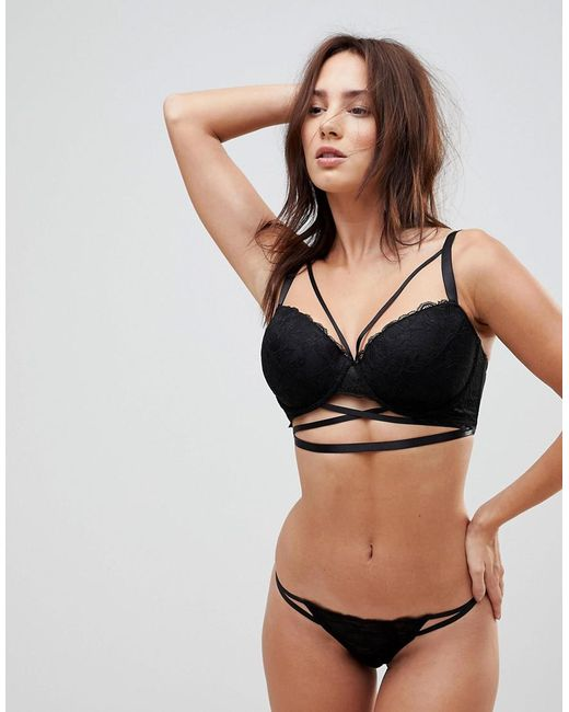 Best Seller Becca Strappy Lace Moulded Bra - Black Asos Cheap Nicekicks Shopping Online Sale Online 2018 Cheap Price Cheap Inexpensive EYVYpon