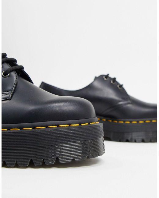 Dr. Martens 8053 Quad - Platformschoenen in het Black voor heren