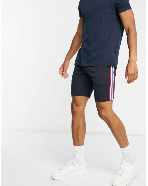 Pantaloncini skinny di ASOS in Blue da Uomo