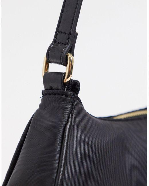 Черная Сумка На Плечо В Стиле 90-х ASOS, цвет: Black