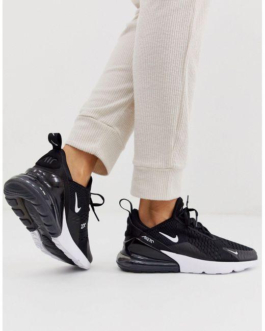 Черно-белые Кроссовки Air Max 270-черный Nike, цвет: Multicolor