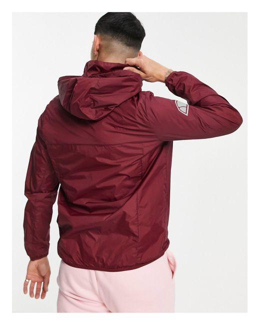 Бордовая Куртка Без Застежки С Логотипом Ion-фиолетовый Цвет Ellesse для него, цвет: Purple