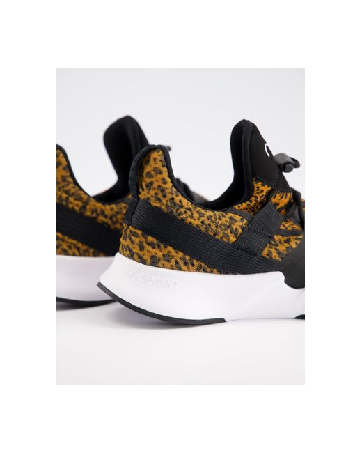 Nike Brown – SuperRep Groove – Sneaker mit Leopardenmuster