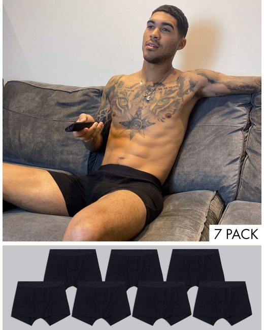 Pack ASOS de hombre de color Black