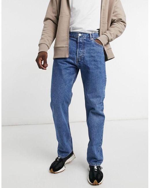 Weekday – Space – Jeans in Blue für Herren