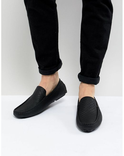 Мокасины -черный Цвет Truffle Collection для него, цвет: Black