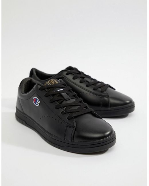 919 Low Trainers In Black - Black Champion a7qzbFZ