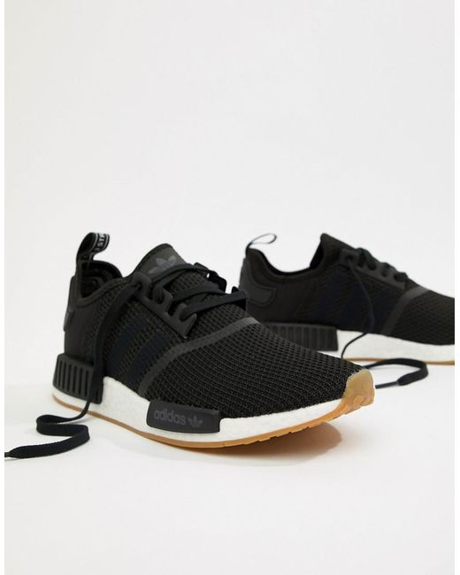 cheap fake with credit card sale online adidas Originals NMD_R1 PK Trainers In Black B42200 find great cheap price enjoy cheap price outlet lowest price QOTlwpeR4