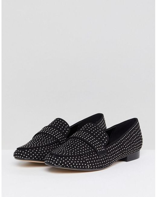 Aldo Cheade Flat Slip On Shoe with Pin Studs