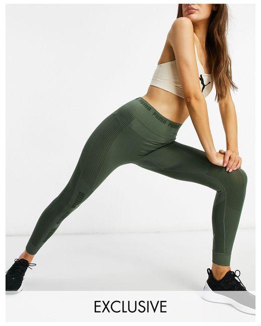 Бесшовные Зеленые Леггинсы Training – Эксклюзивно Для Asos-зеленый Цвет PUMA, цвет: Green