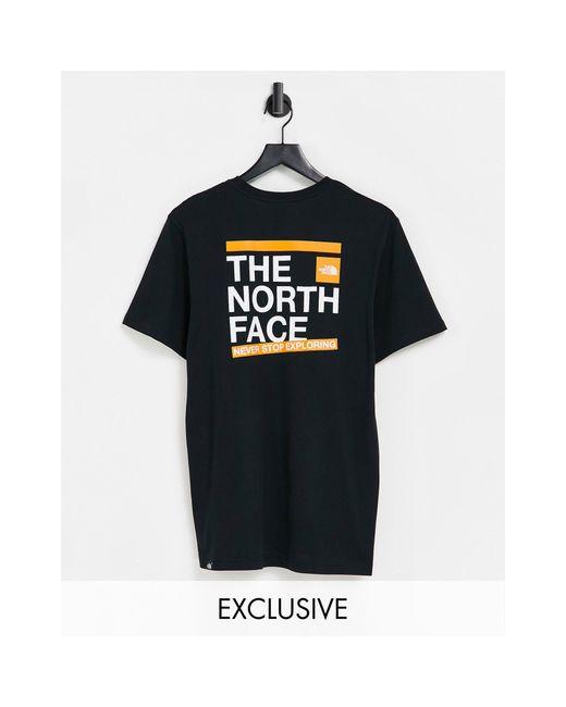 Черная Футболка Slice – Эксклюзивно Для Asos-черный Цвет The North Face для него, цвет: Black