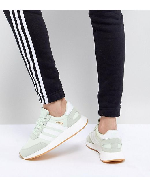 d3cb12bea556 Adidas Originals - Green I-5923 Runner Trainers In Mint - Lyst ...