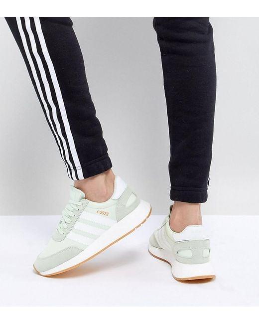 5ec1552f2 Adidas Originals - Green I-5923 Runner Trainers In Mint - Lyst ...