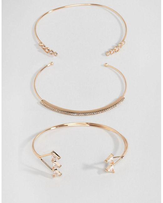ALDO   Metallic Vanhese Stacking Bracelets   Lyst