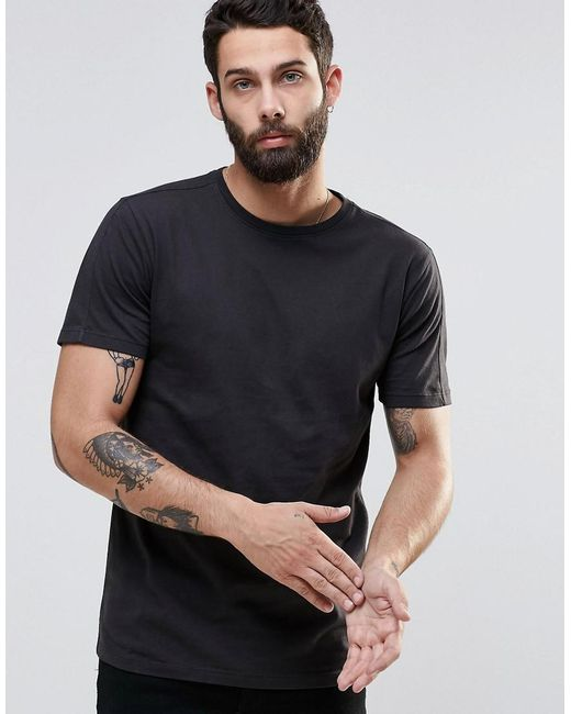 Only & Sons   Gray Crew Neck T-shirt for Men   Lyst