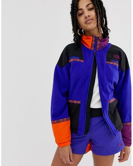 130c68b8c Women's Blue 92 Rage Full Zip Fleece In Aztec Combo