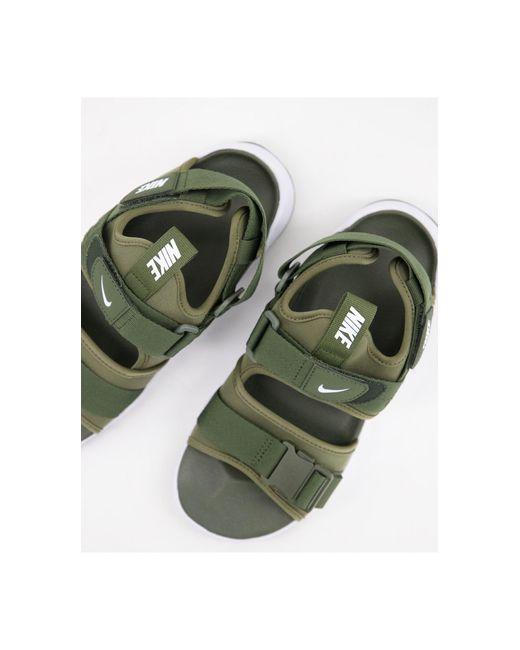 Cпортивные Походные Сандалии Canyon-многоцветный Nike для него, цвет: Green