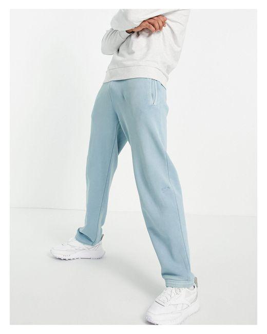 Reebok Blue Classics Sweatpants for men