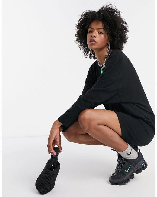 Noisy May Black – es Mini-Pulloverkleid