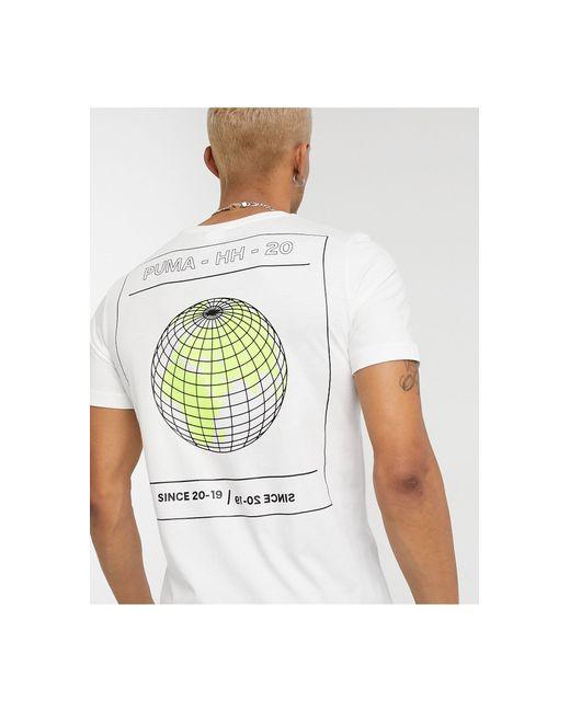PUMA X Helly Hansen – T-Shirt mit Logo in White für Herren