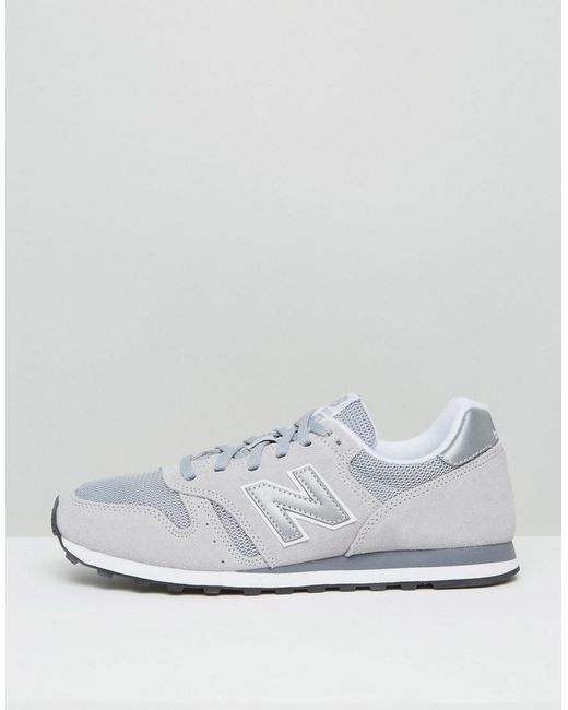watch 81fe3 08e25 New Balance Suede Modern Classic 373 Trainers In Grey ...