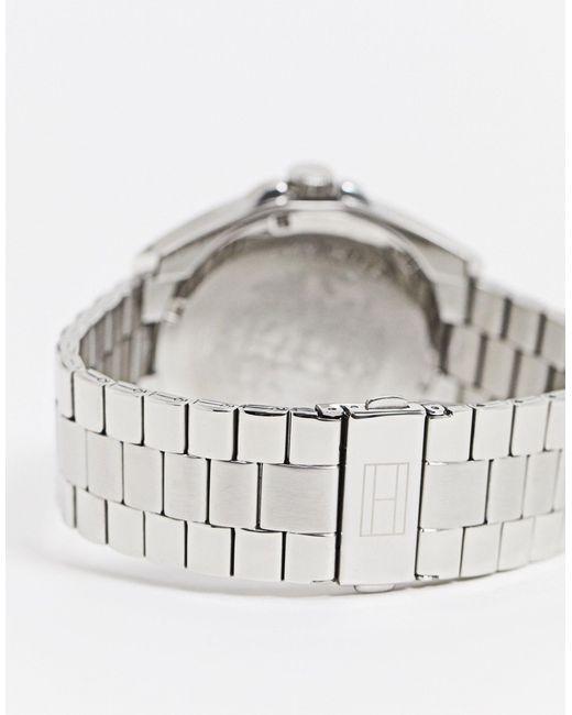 1791684 - Orologio sunray con bracciale argento di Tommy Hilfiger in Metallic da Uomo