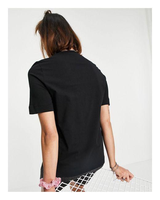 Черная Футболка С Логотипом Sparkle -черный Love Moschino, цвет: Black