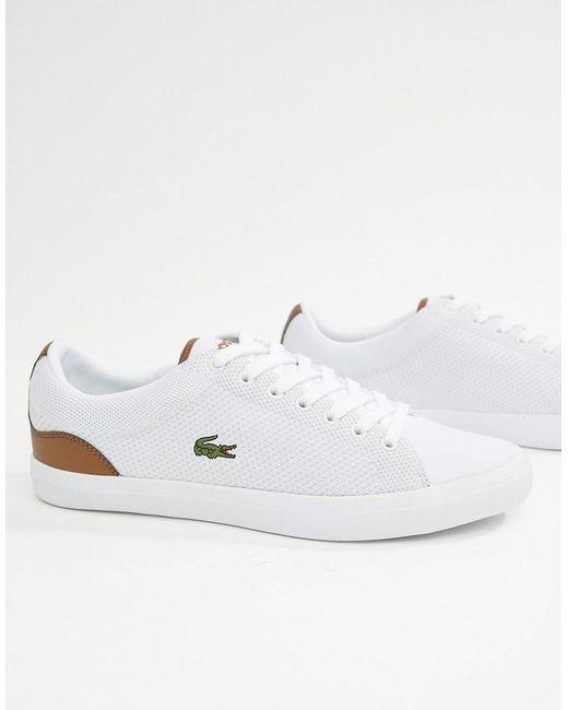 White Men's Sneakers In Bl Lerond 1 92WDEIH