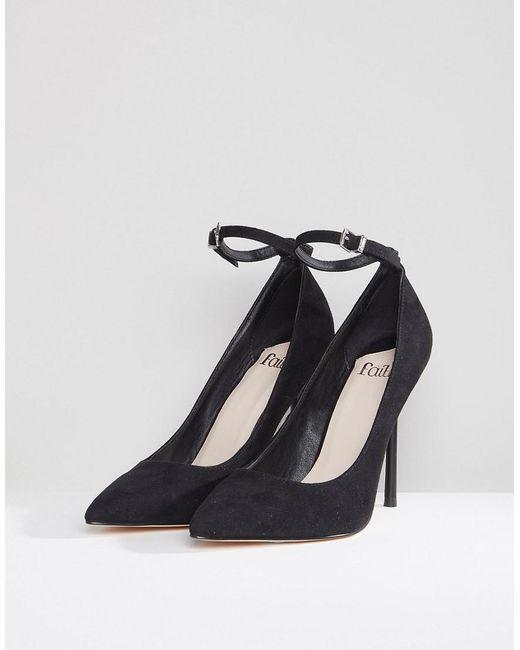 Chlo Pointed Heeled Shoes - Black Faith jZCMTeGSzU