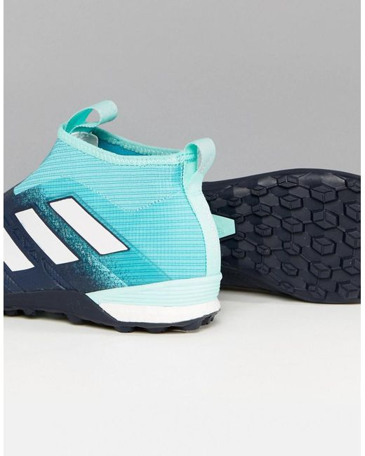Football Tango 17 Pure Control Astro Turf Trainers In Blue BY1943 - Blue adidas 0mfAirJft