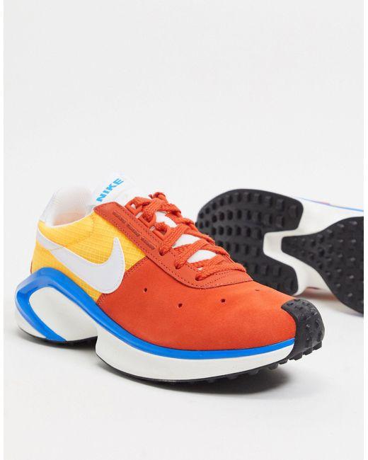 Оранжевые Кроссовки D/ms/x Waffle-оранжевый Nike для него, цвет: Orange
