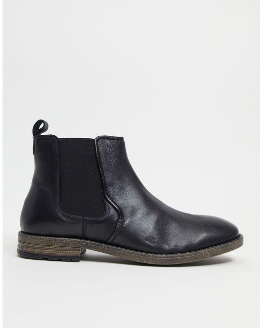 Dune – Formale Ankle-Boots in Black für Herren