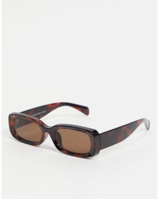 Солнцезащитные Очки В Прямоугольной Черепаховой Оправе Cruise-коричневый Цвет Weekday, цвет: Brown
