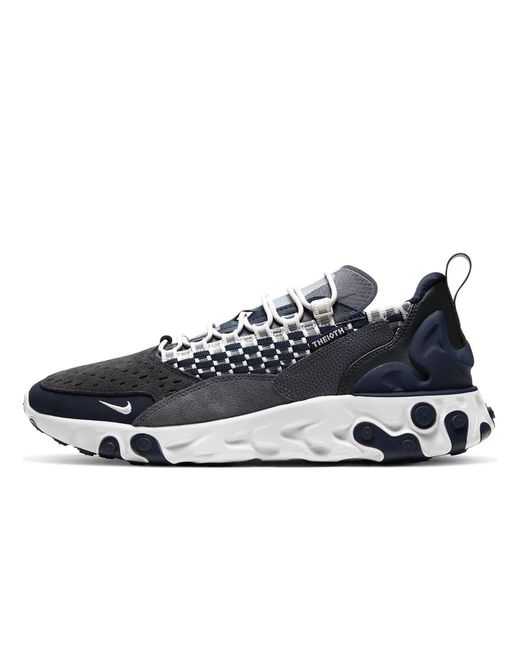 Nike Gray React Sertu Shoe for men