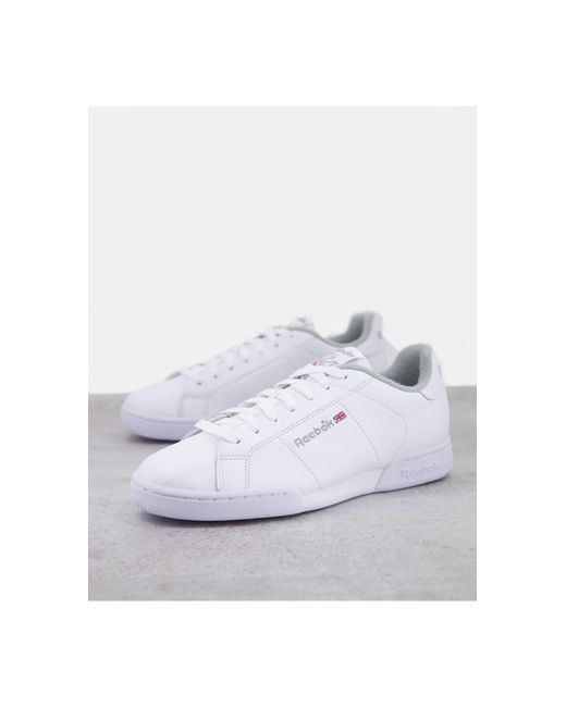 Reebok White Npc 11 Trainers for men