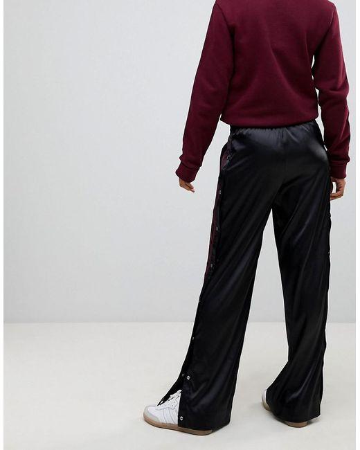 Lyst Adidas Originals Originals Adibreak Satin Wide Leg