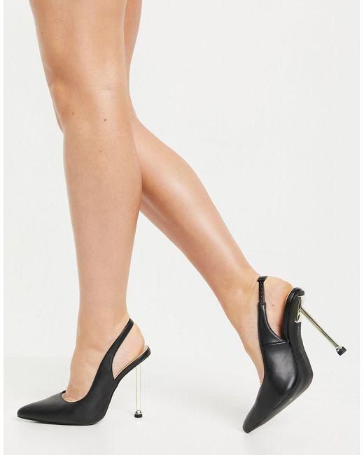 SIMMI Shoes Black Simmi London – Kegz – Pumps