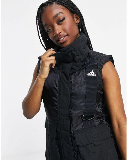 Черный Жилет В Утилитарном Стиле -черный Цвет Adidas, цвет: Black