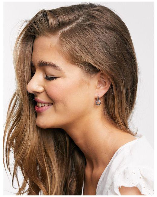 Серьги-кольца Из Стерлингового Серебра -серебряный Olivia Burton, цвет: Metallic
