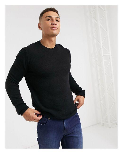 Jersey ASOS de hombre de color Black