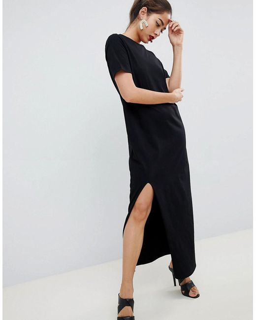 save up to 80% no sale tax top-rated authentic Women's Black Ultimate T-shirt Maxi Dress