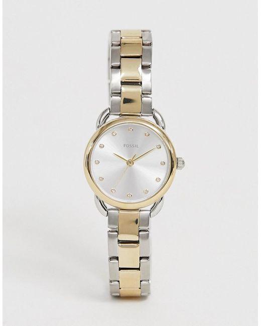 reunirse diseño novedoso modelado duradero Reloj de pulsera pequeño de 26 mm ES4498 Tailor de hombre de color metálico